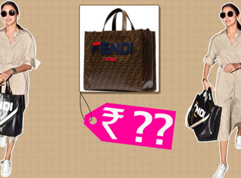Anushka Sharma's Fendi Tote Bag can easily sponsor your trip to an exotic location
