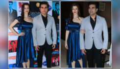 In Pics: Arbaaz Khan accompanied by his alleged girlfriend Georgia Andriani for the launch of his new show