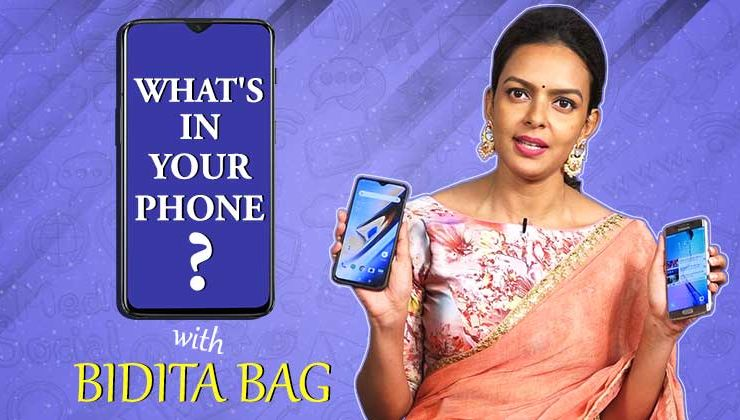 'Sholay Girl' Bidita Bag plays the fun game of 'What's In Your Phone'