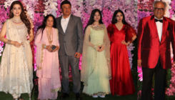 Akash-Shloka Wedding Reception: Juhi Chawla, Boney Kapoor and Anu Malik make a stylish entry