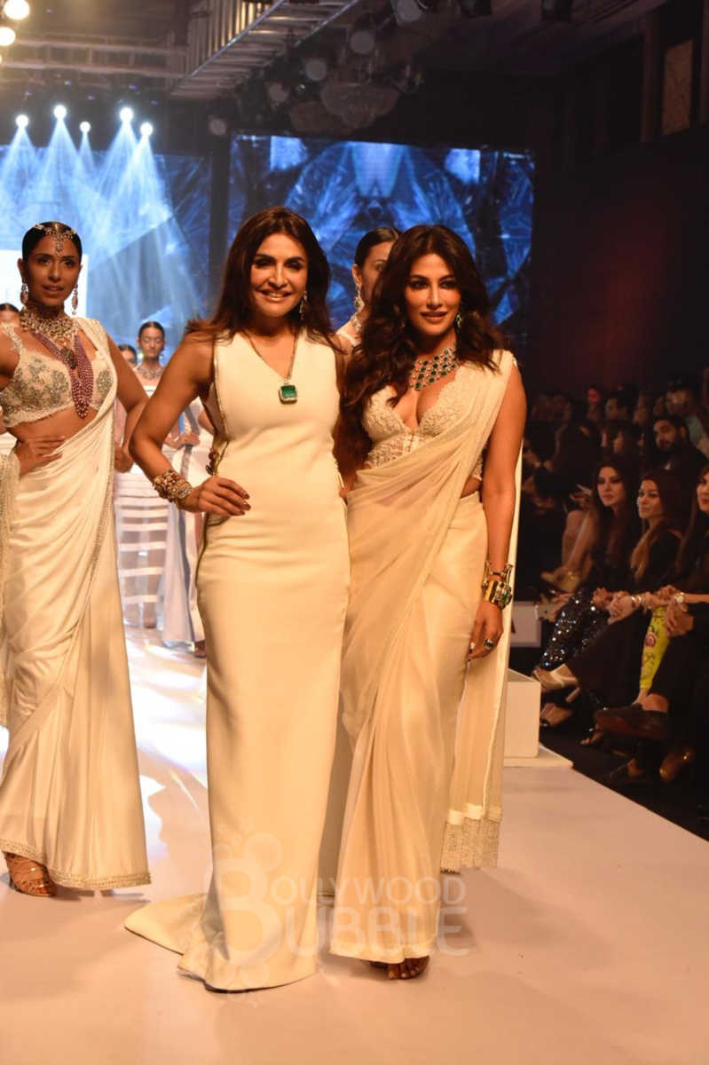 Chitrangda with Queenie Singh