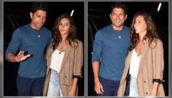Lovebirds Farhan Akhtar and Shibani Dandekar walk hand-in-hand at 'Photograph' special screening