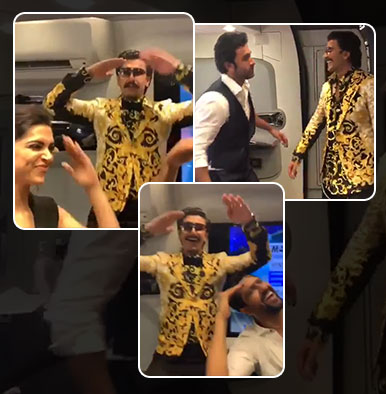 Watch: Deepika Padukone, Ranveer Singh, Ranbir Kapoor and Vicky Kaushal dance to 'Kalank' songs