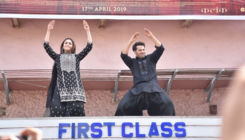 Watch: Varun Dhawan and Alia Bhatt's 'First Class' dance performance outside Gaiety Galaxy
