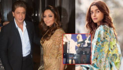 Watch: SRK, Gauri and Alia can't stop grooving to Coldplay's song at Akash-Shloka's pre-wedding bash