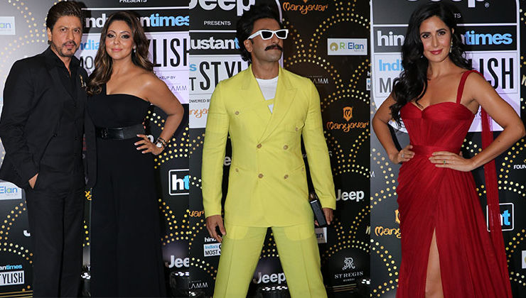 HT India's Most Stylish 2019: SRK-Gauri, Katrina, Ranveer rocked the awards night in style