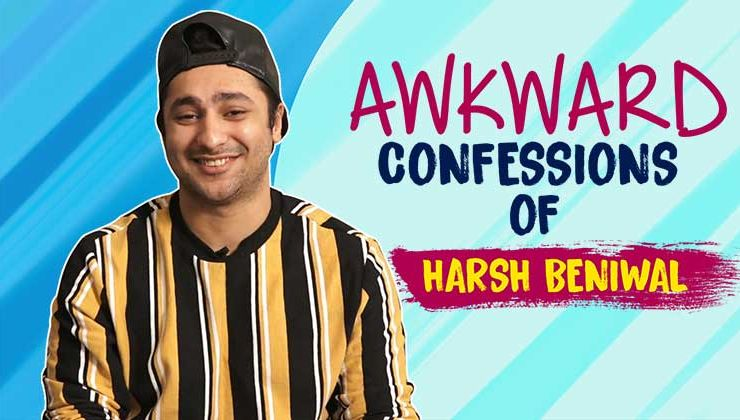 Harsh Beniwal reveals AWKWARD Confession in an exclusive Interview