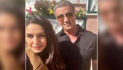 When Huma Qureshi bumped into 'Rocky' star Sylvester Stallone