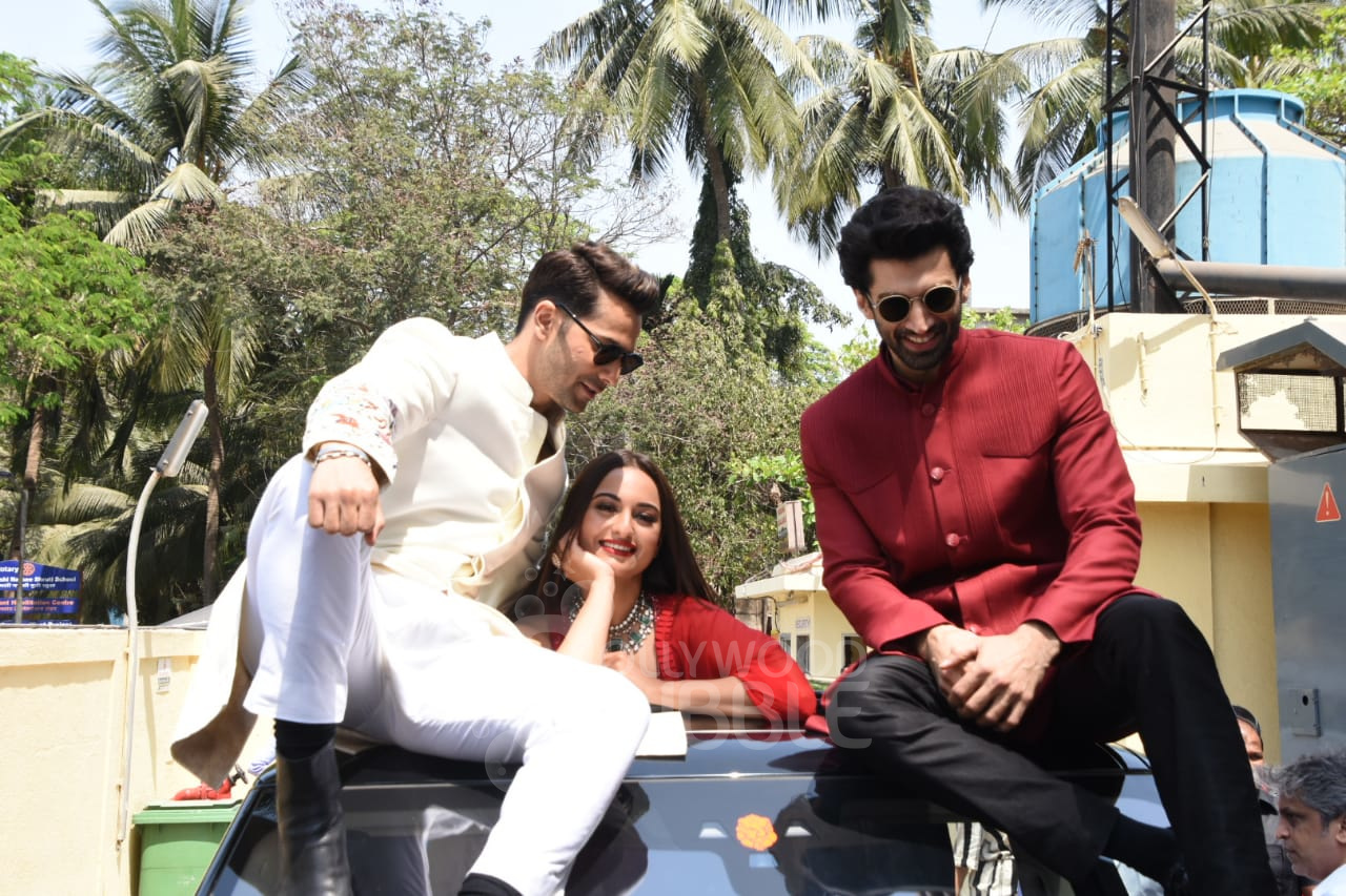 Varun, Sonakshi and Aditya
