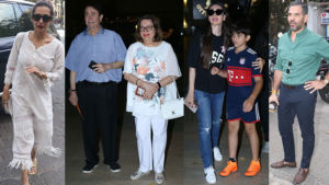 Karisma Kapoor son birthday bash