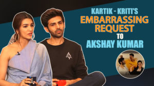 'Luka Chuppi': Kartik Aaryan and Kriti Sanon's EMBARRASSING request to Akshay Kumar