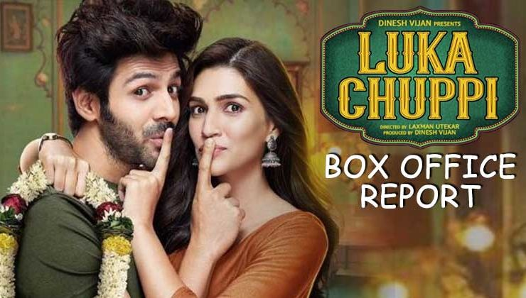 Box-Office Report: Kartik Aaryan and Kriti Sanon's 'Luka Chuppi' witness an excellent growth