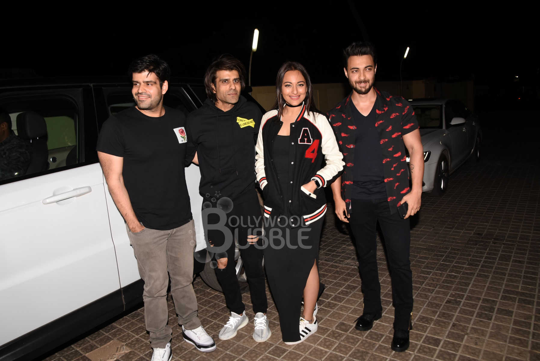 Aayush Sharma, Sonakshi Sinha and Chopra brothers
