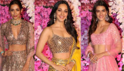 Akash-Shloka Wedding Reception: Kriti, Malaika and Kiara make a stylish entry