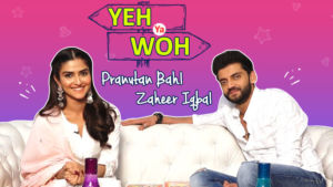 Yeh Ya Woh: 'Notebook' stars Pranutan Bahl and Zaheer Iqbal choose between SRK and Salman Khan