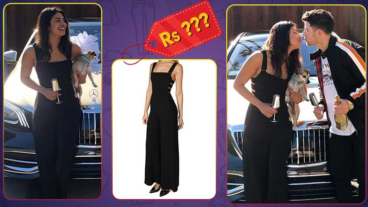 9ffeb171463 The price of Priyanka Chopra s Black Zimmermann Jumpsuit can easily finance  your Goa trip