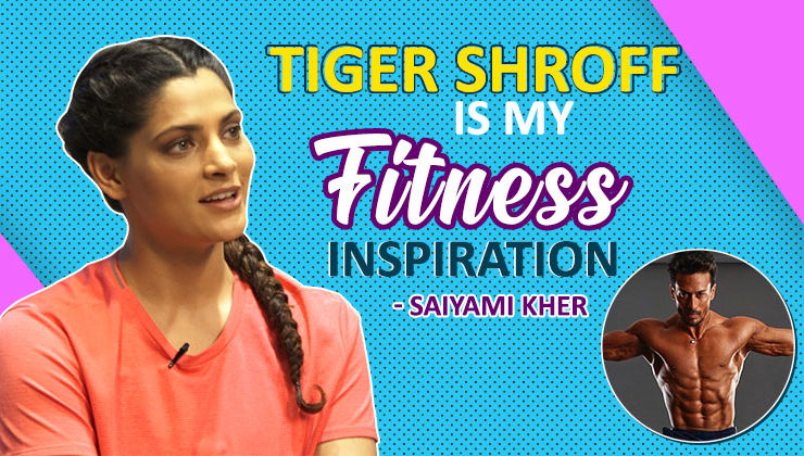 Saiyami Kher: Tiger Shroff is my fitness inspiration