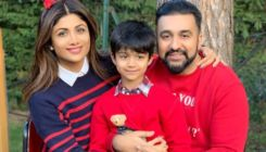 Shilpa Shetty's son Viaan imitates Prabhas' famous act from 'Baahubali' - watch video