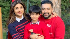 Shilpa Shetty son imitates Prabhas act