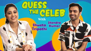 Guess The Celeb: Shweta Tripathi's FUNNY dumb charades for Jitendra Kumar