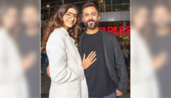 Sonam Kapoor's romantic kiss for hubby Anand Ahuja will make your day
