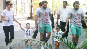 Pics: Taimur on an outing with parents Saif Ali Khan and Kareena Kapoor Khan