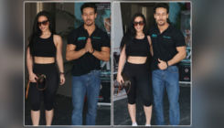 Pics: Tiger Shroff and Krishna Shroff promoting MMA Fight Night