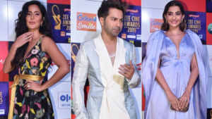 Zee Cine Awards 2019: Katrina Kaif, Varun Dhawan and Sonam Kapoor rock the red carpet