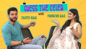 Guess The Celeb: 'Notebook' stars Zaheer Iqbal and Pranutan Bahl's AWKWARD expressions are too funny