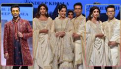 Pics: Sonam Kapoor, Karan Johar, Shweta Bachchan walk the ramp for a noble cause