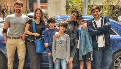 Sonali Bendre enjoys Sunday brunch with Hrithik, Sussanne and family