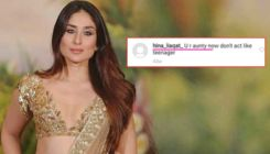 Watch: Kareena Kapoor Khan has a savage reply on being called 'Aunty' on Twitter