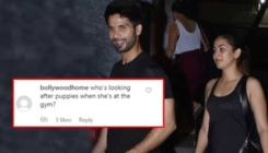 Mira Rajput trolled mercilessly for leaving her 'puppy' at home