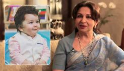 Taimur's popularity with the paparazzi no longer bothers dadi Sharmila Tagore