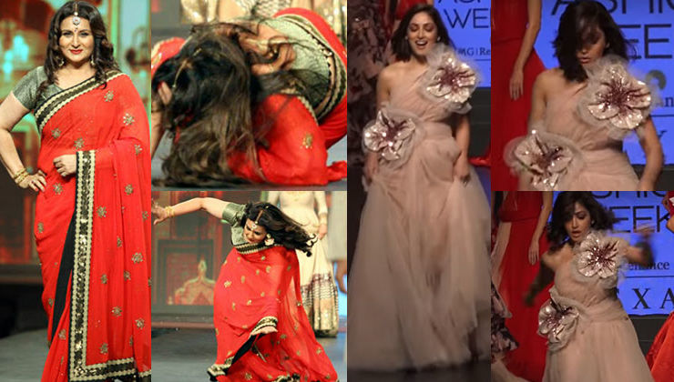 In pictures: When B-town beauties tripped on the ramp
