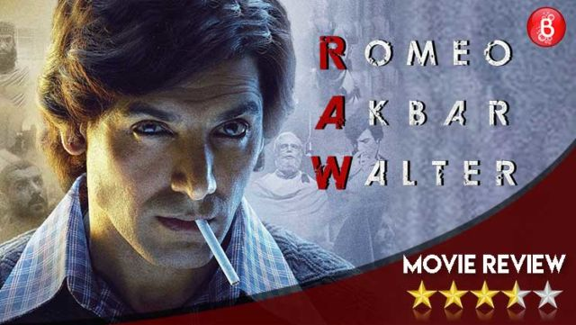 'Romeo Akbar Walter' Movie Review: A smartly executed spy thriller that'll stir your senses