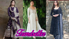 Alia Bhatt brings the summer wedding look in trend during various 'Kalank' promotions