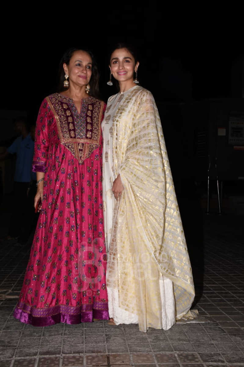 Alia Bhatt and Soni Razdan