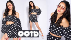 OOTD: Ananya Panday looks uber cool in polka dot separates