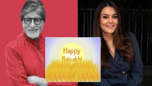 bollywood celeb wish happy baisakhi