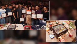 'Chhichhore': Shraddha Kapoor and Sushant Singh Rajput celebrate as they wrap up the film - view pics