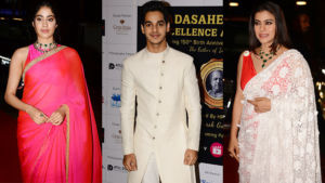 Dadasaheb Phalke Awards 2019: Janhvi Kapoor, Ishaan Khatter and Kajol dazzle at the red carpet