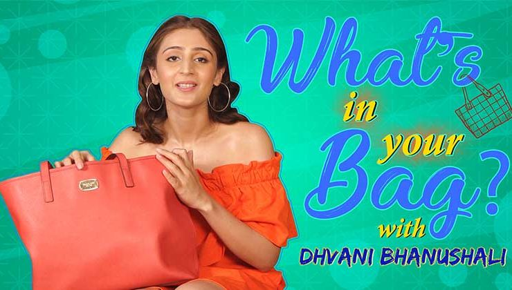 What's In Your Bag: Dhvani Bhanushali's CRAZY obsession with books revealed