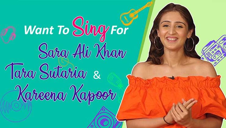 Dhvani Bhanushali wishes to sing for Sara Ali Khan, Tara Sutaria and Kareena Kapoor