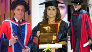 B-town celebs who are honored with honorary doctorate degrees