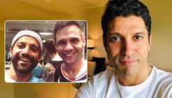 Farhan Akhtar shares a picture with the trainer of his upcoming movie 'Toofan'