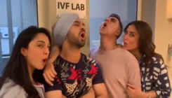 Viral Video: Akshay Kumar, Kareena Kapoor, Diljit Dosanjh & Kiara Advani making WEIRD noises