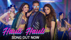 'Hauli Hauli' song: Ajay Devgn is sandwiched between Rakul Preet and Tabu in this recreated track