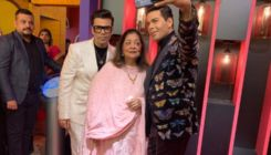 Pics: Karan Johar unveils his wax statue at Madame Tussauds