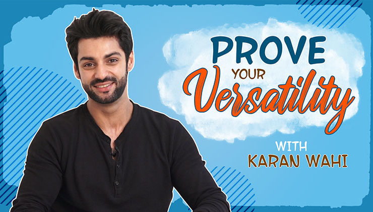 Prove Your Versatility: Karan Wahi gives a glimpse of his next level acting skills